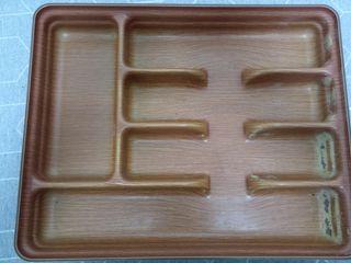 cubertero estética madera