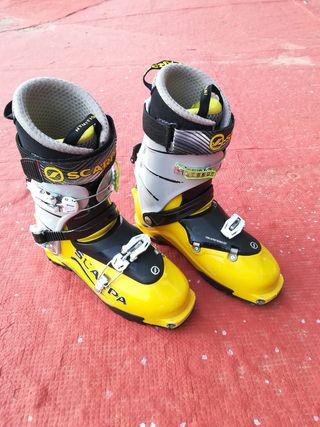 Bota esquí travesía Scarpa 28.0 IMPECABLES