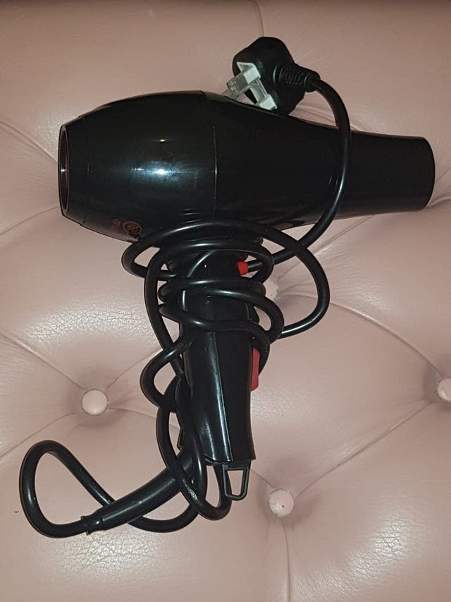 Hair Dryer with 2 nozzles