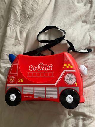 Maleta bombero niño TRUNKI