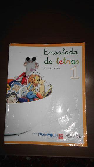 LIBRO ENSALADA DE LETRAS DE 1 SM