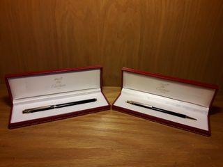 Juego de pluma y bolígrafo Cartier