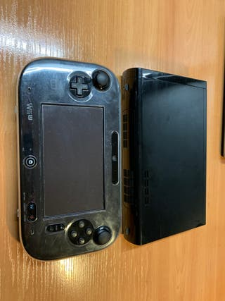 Nintendo wii U con 7 juegos y dos mandos