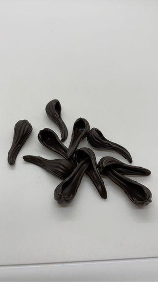 Cola de pelo coleta marrón oscuro playmobil