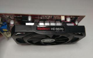 Tarjeta grafica RADEON HD6670