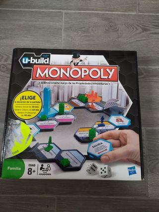 Juego de mesa U-build Monopoly