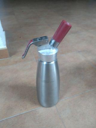 sifón de cocina para espumas 1L
