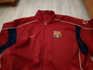 chaqueta chándal vestimenta fc barcelona