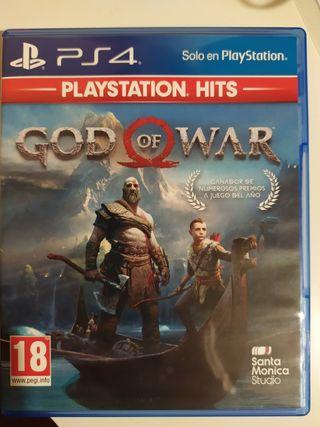 Intercambio God Of War PS4