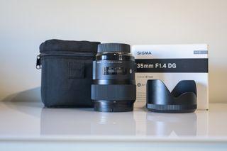 Objetivo SIGMA 35mm f/1.4 ART para Nikon