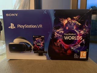 PACK SONY VR PS4 PLAYSTATION VR + CÁMARA 2.0