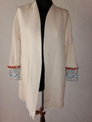 Cardigan étnico Zara