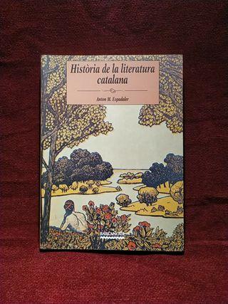 Historia de la literatura catalana. Espadaler.