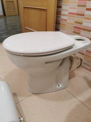 WC Roca. taza + cisterna de alimentación