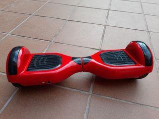 Patín eléctrico Hoverboard rojo