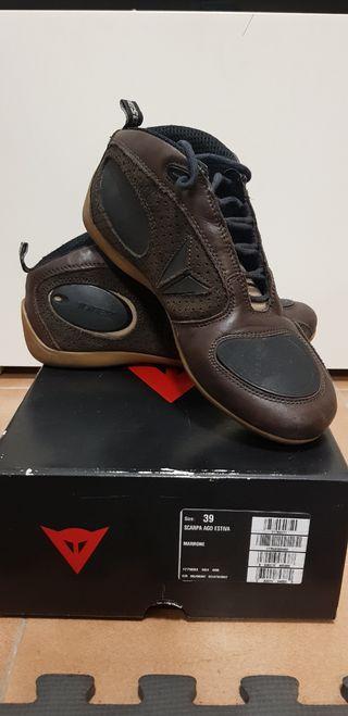 Zapatillas Dainese Piel marron