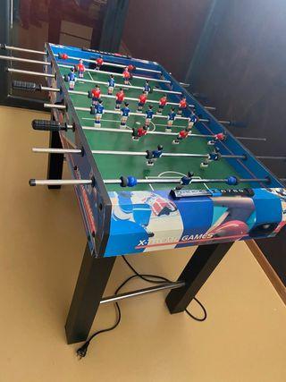 Futbolín mesa multi juego