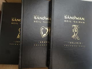 The Sandman 3 tomos edición deluxe