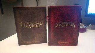 El señor de los anillos, dvd extendidos 1 y 2