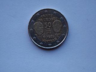diferentes monedas de 2€ de colección