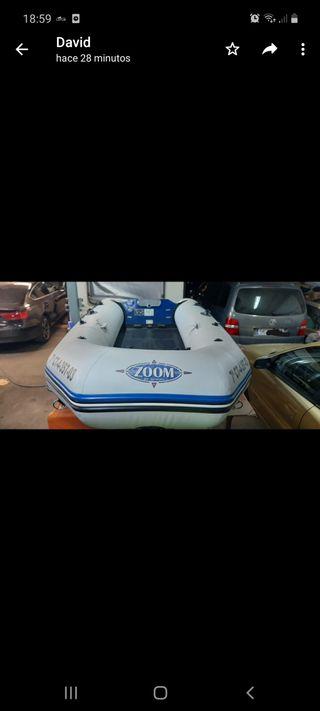 embarcación lancha zodia bote neumática barco.