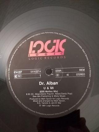 Vinilo Dr. Alban - U & Mi