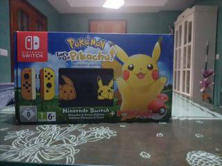 Nintendo switch pokemon let's go pikachu