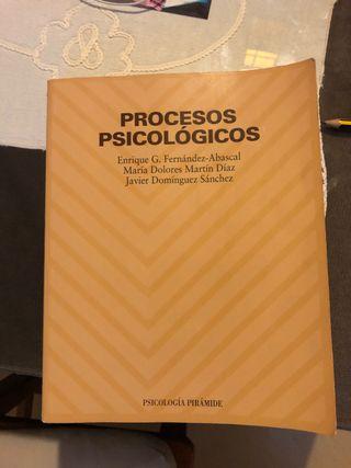 Libro Uned Procesos Psicológicos.