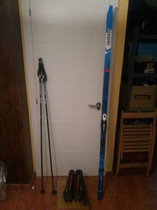 Equipo esquí de fondo