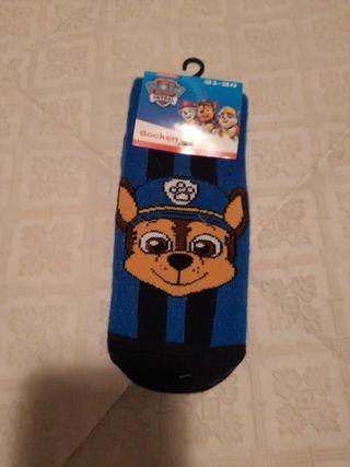 Calcetines antideslizante patrulla canina