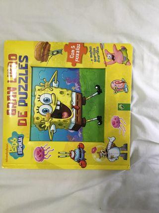 Libro Puzzle Bob esponja