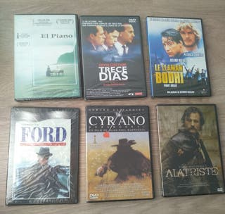 Películas en DVD nuevas, precintadas.