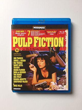 Pulp Fiction blu-ray. 1ª edicion Quentin Tarantino