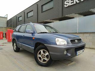 "Hyundai Santa Fe ""TRACCIÓN 4X4"""