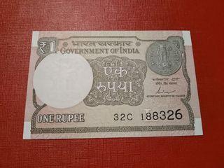 Billete La India 1 rupia SC