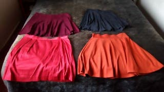 Faldas moda chica