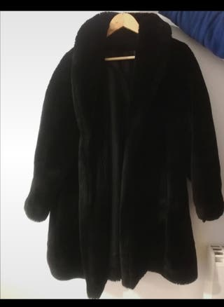 Abrigo de pelo suave 'El Corte Inglés'