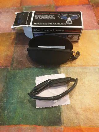 Gafas Sol cámara foto y video Espia Vigilancia