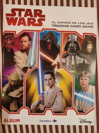 ALBUM VACIO STAR WARS EL CAMINO DE LOS JEDI
