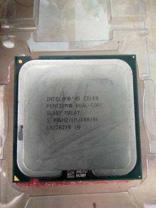 Procesador Intel Pentium E2180 Dual-Core 2.00GHz