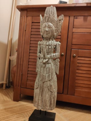 escultura budista antigua