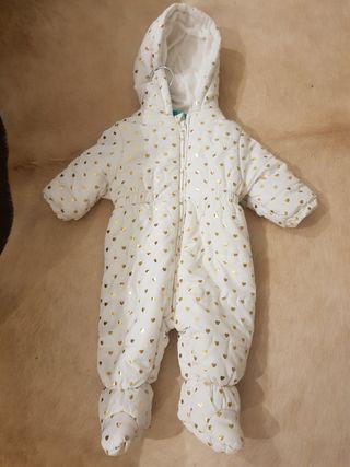 Buzo mono de nieve talla 6 meses Zara