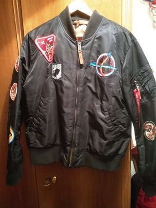 Alpha industries MA-1 con parches