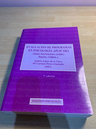 Evaluación de programas en psicología aplicada