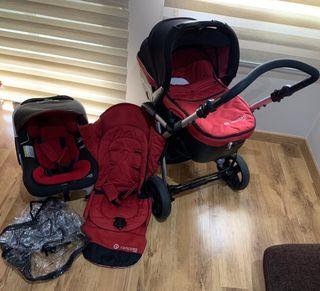 Coche bebé paseo Concord Fusion(trío)