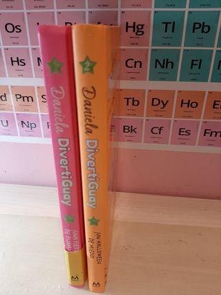 2 libros de Daniela divertiguay