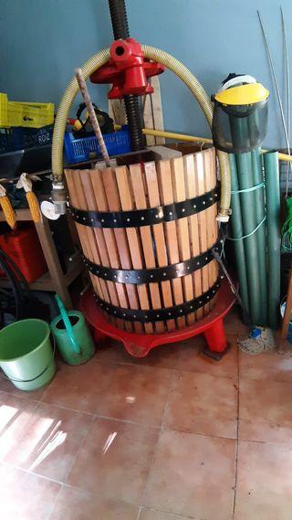Prensa manual para elaboracion de sidra o vino