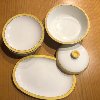 Vajilla francesa Faiences Porcelaines S.XIX