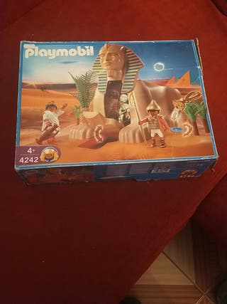 Esfinge egipcia de playmobil