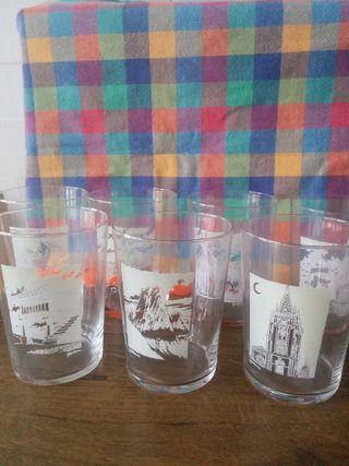 Vasos de sidra Asturias nuevos